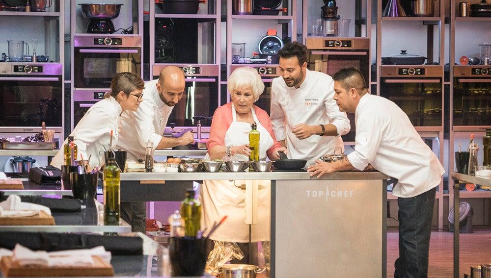 La mejor abuela de España retará a los concursantes de 'Top Chef' a hacer su plato estrella