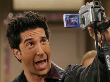 David Schwimmer en 'Friends'