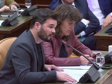 """Frame 158.692943 de: Rufián acusa al ex director de la Oficina Antifraude de Cataluña de ser un """"gánster"""", """"mamporrero"""" y """"lacayo"""""""