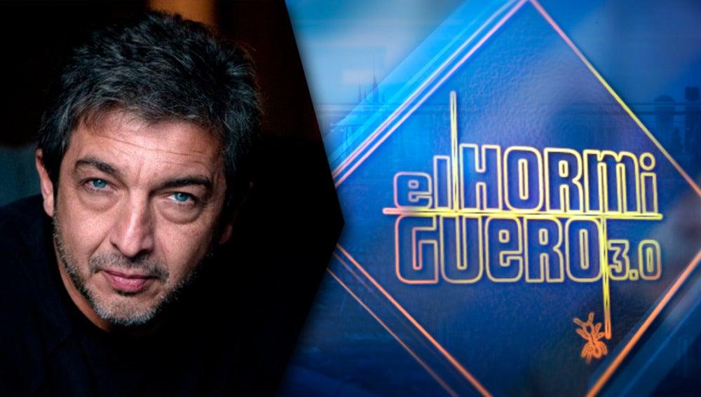 El actor Ricardo Darín presenta su nueva película el lunes en 'El Hormiguero 3.0'