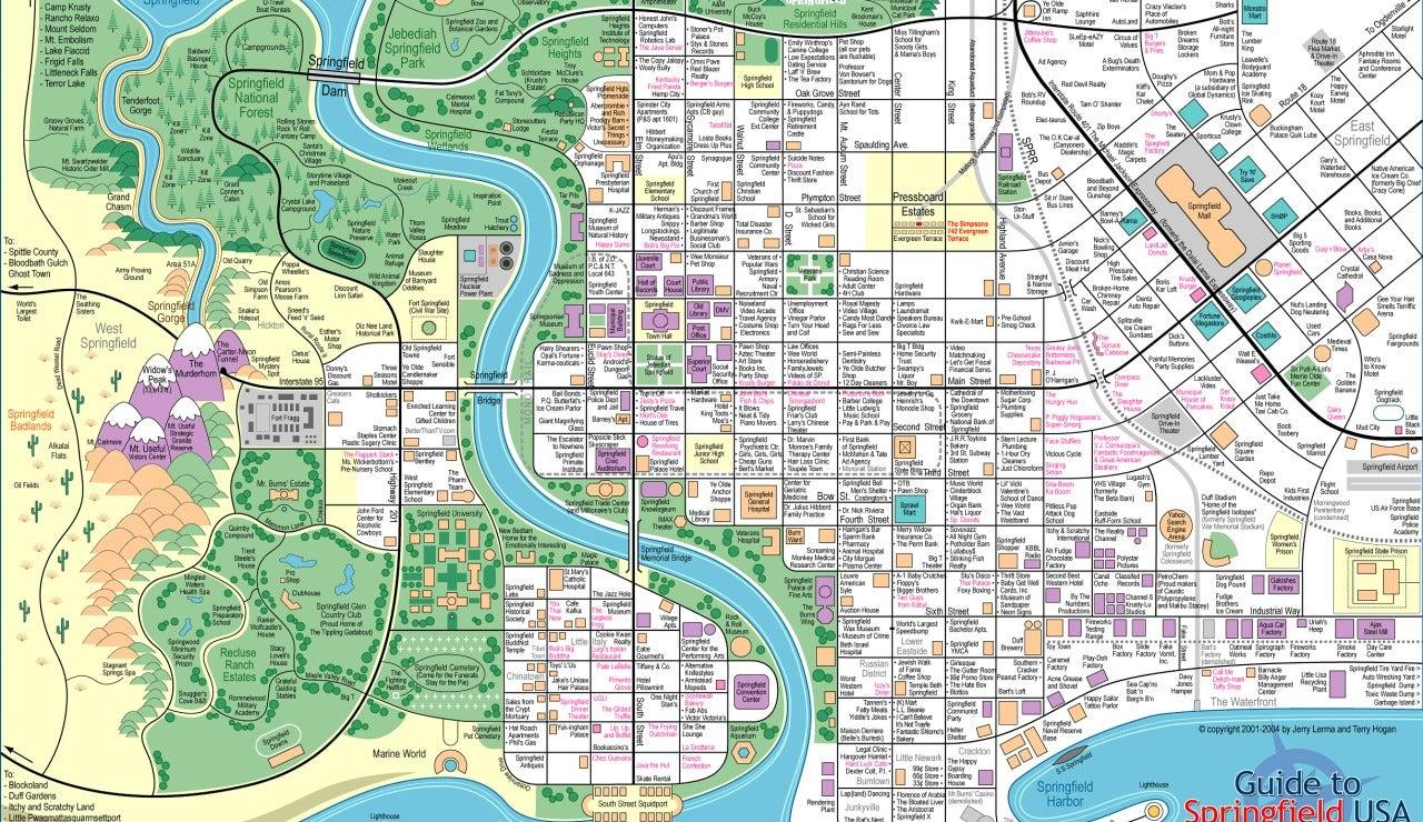 Muévete por Springfield como si fueras un habitante más de la ciudad de 'Los Simpson'