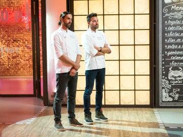 Filippetti o Montoro, uno de los dos ya ha recogido sus cuchillos de las cocinas de 'Top Chef'