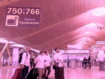 La T4 del aeropuerto de Madrid Barajas, escenario de la prueba más exigente de 'Top Chef'