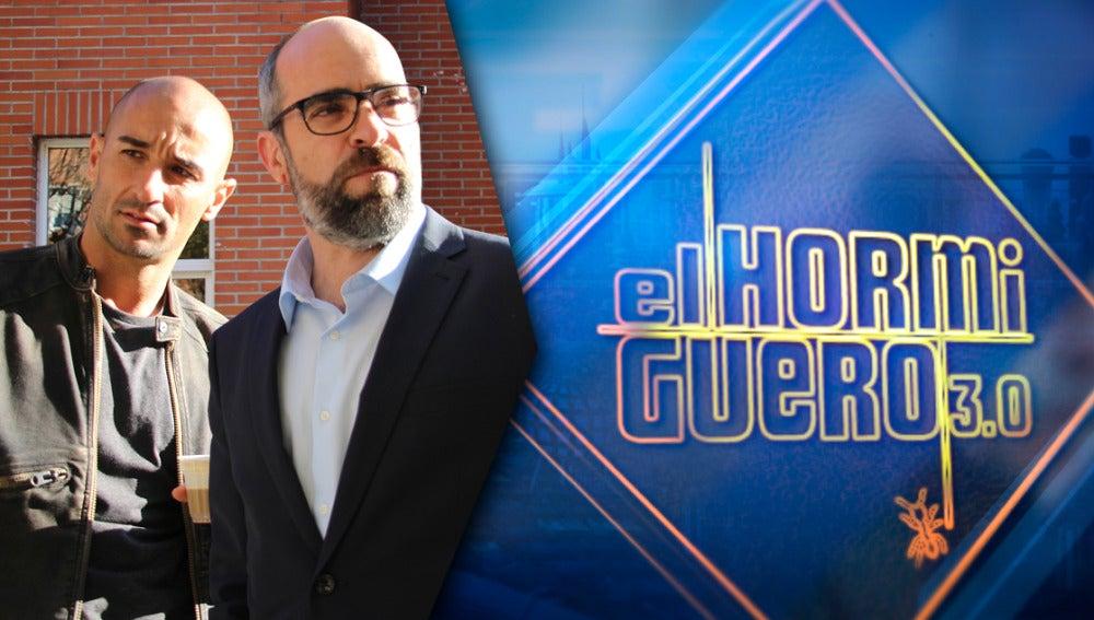 Luis Tosar y Alain Hernández presentan la película 'Plan de fuga' en 'El Hormiguero 3.0'