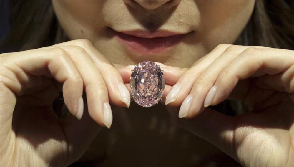 El diamante Estrella Rosa
