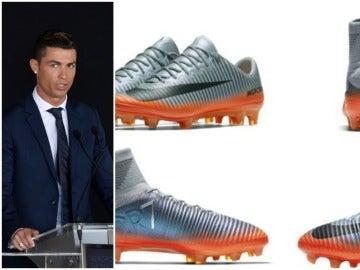 Las nuevas botas de Cristiano Ronaldo