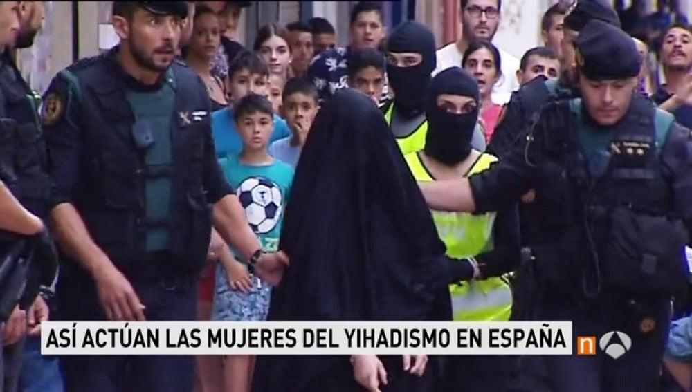 Detenida una yihadista en Terrasa