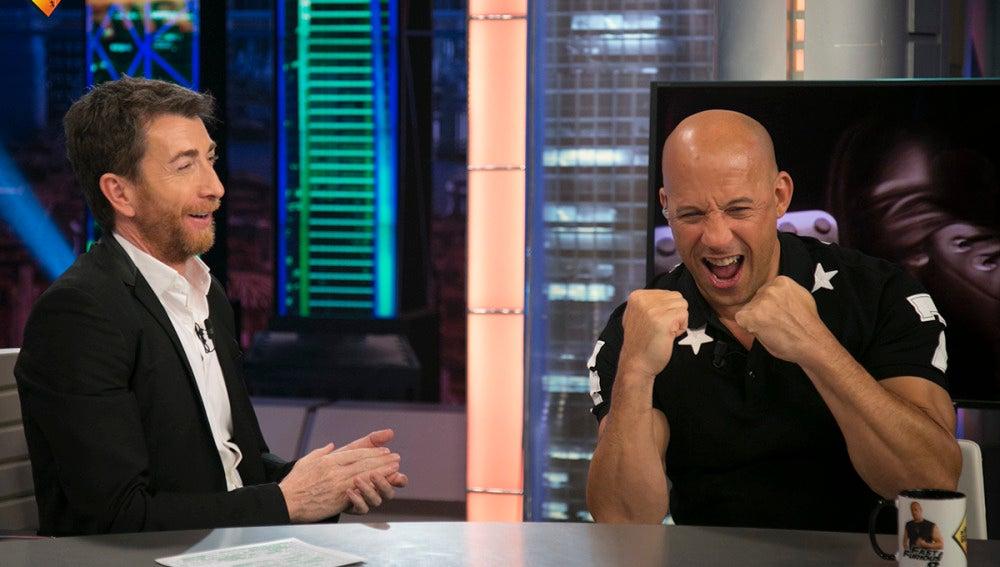 Vin Diesel se arranca a 'perrear' con Pablo Motos