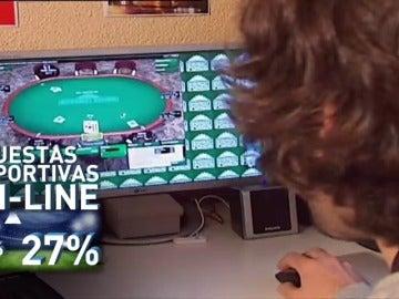 """Frame 50.105592 de: Aumenta el número de pacientes con adicción al juego """"online"""""""