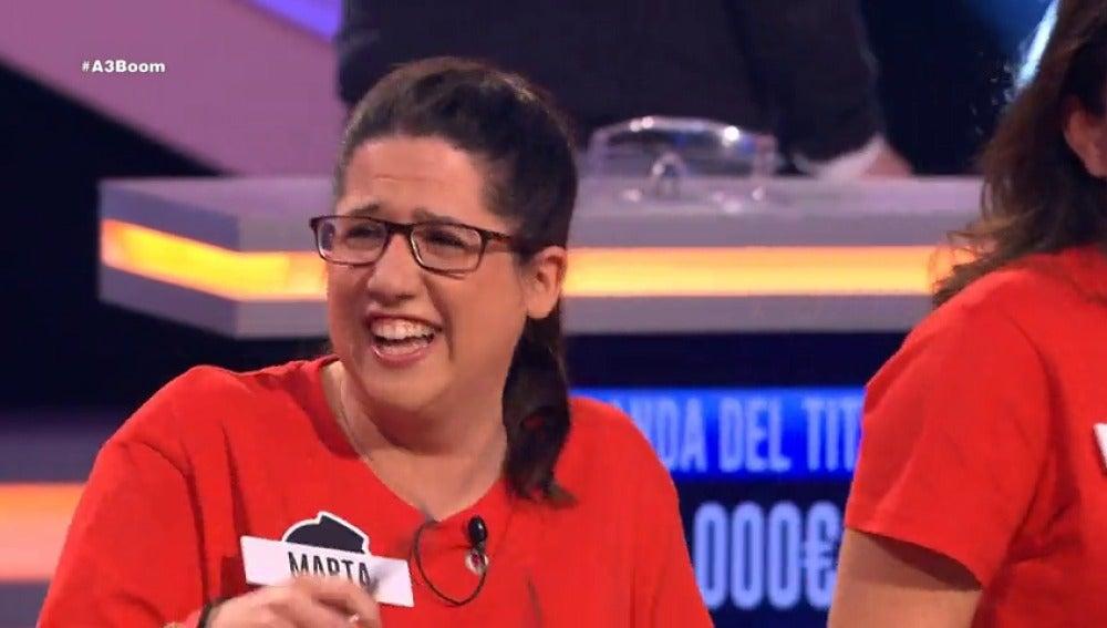 Frame 61.959047 de: Marta no puede parar de reír