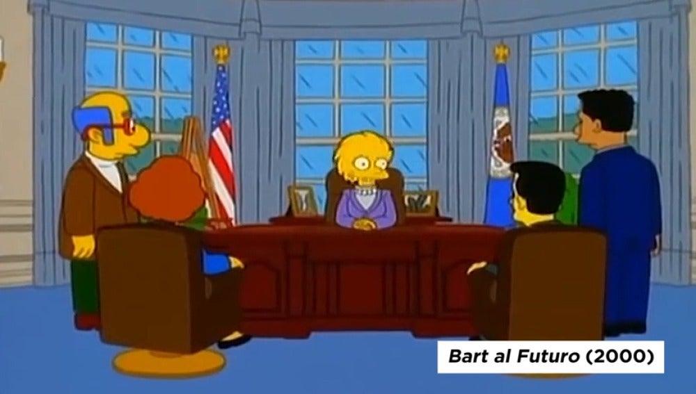 Frame 13.384632 de: Recopilamos las pofecías cumplidas de 'Los Simpson'