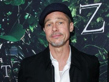 Brad Pitt durante la premiere