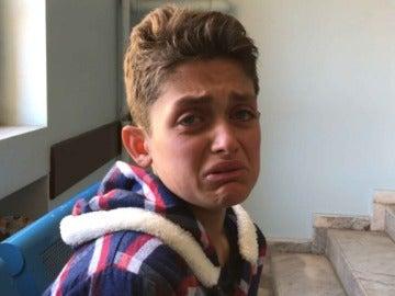 Mazin Yusif ha perdido a 19 familiares durante el ataque químico en Siria