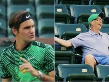 Federer manda callar a Bill Gates