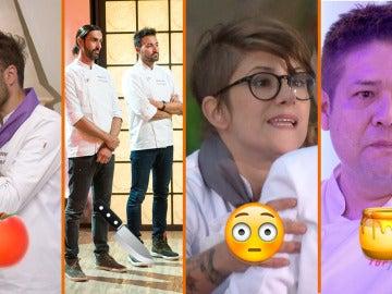 Resbalones, emociones a flor de piel y fuertes discusiones, los momentazos de 'Top Chef'