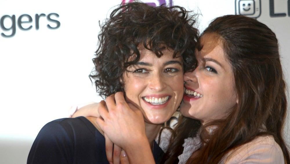 Famosos y celebrities antena 3 tv lucia rivera la hija for Blanca romero foto padre de su hija