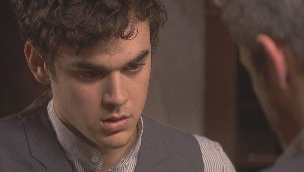 Matías le pedirá consejo a Alfonso para ser un buen padre