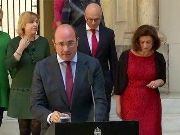 Frame 23.392195 de: Anticorrupción atribuye un quinto delito a Pedro Antonio Sánchez por un supuesto fraude de subvenciones
