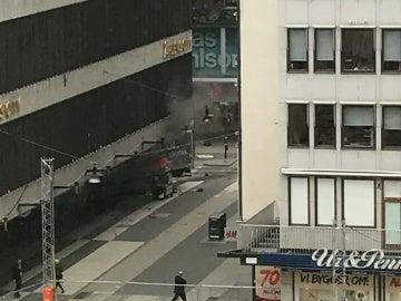 ataque terrorista en Estocolmo