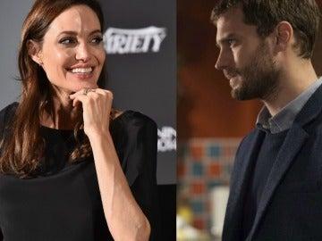 Angelina Jolie y Jamie Dornan