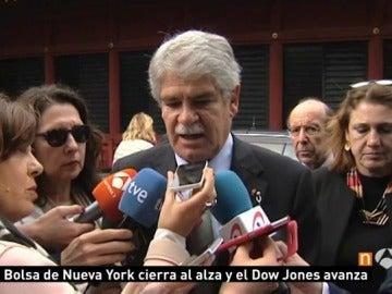 Alfonso Dastis reacciones al ataque en Siria