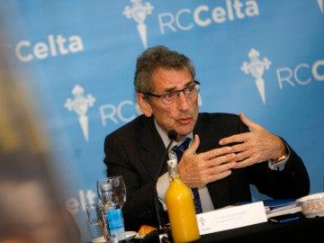 Carlos Mouriño, presidente del Celta de Vigo