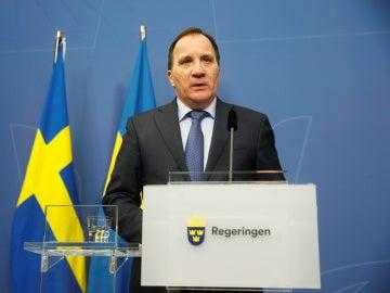 El primer ministro sueco, Stefan Löfven
