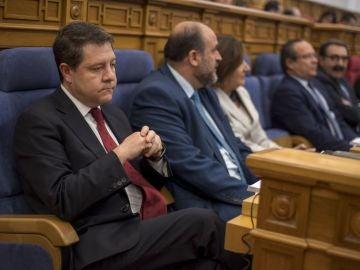 El presidente del Gobierno de Castilla-La Mancha, Emiliano García-Page