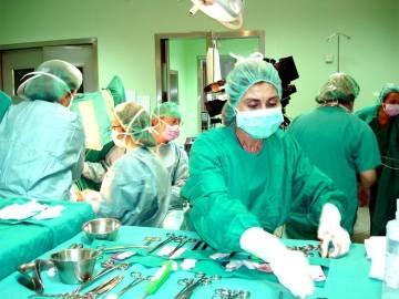 Un grupo de enfermeros