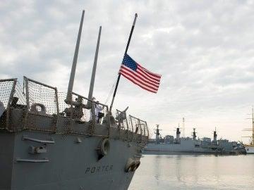 Imagen de archivo del buque USS Porter