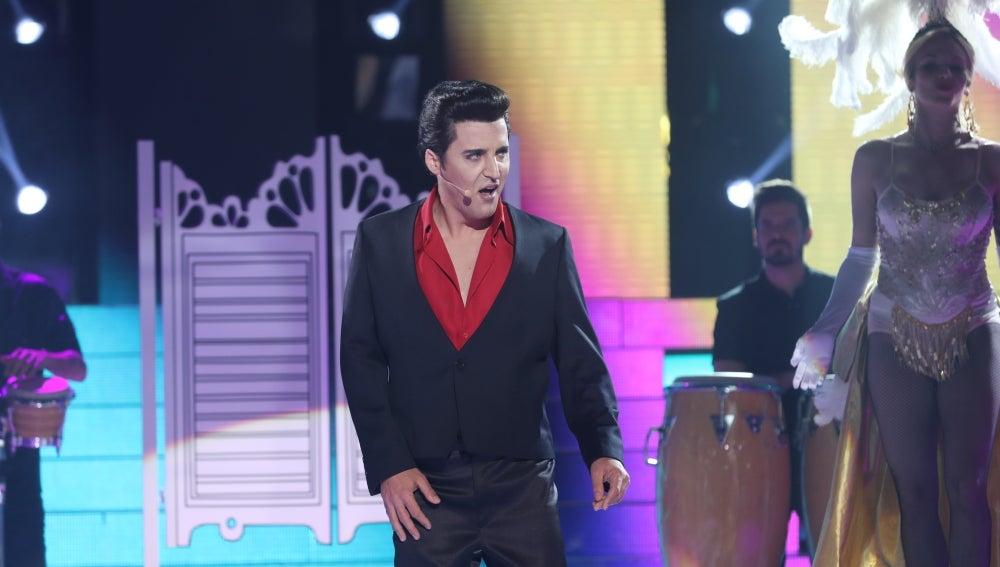 Elvis de Palma nos traslada a Las Vegas convertido en un auténtico Elvis Presley