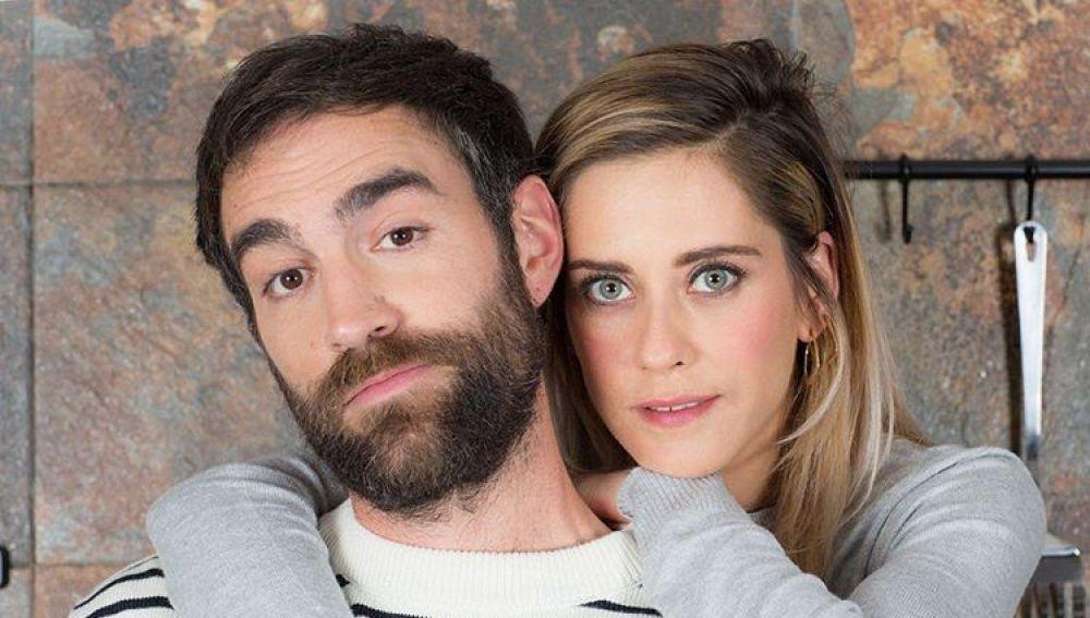 El emotivo mensaje de Jon Plazaola a María León en el último día de rodaje de 'Allí Abajo'