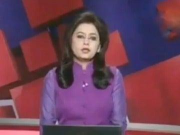 Supreet Kaur, la presentadora india