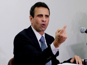 El líder opositor venezolano Henrique Capriles.