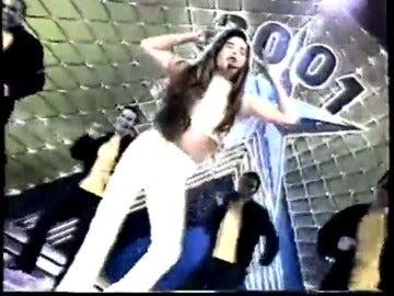 Frame 111.213607 de: Libertad Fajardo, una pequeña 'Thalía' en 'Menudas Estrellas'