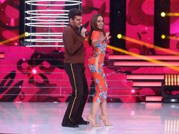 Juanma y Mónica Naranjo perrean al ritmo de Ricky Martin