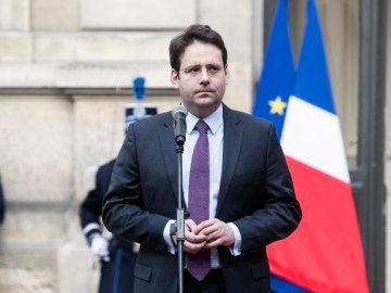 El ministro de Interior galo, Matthias Fekl