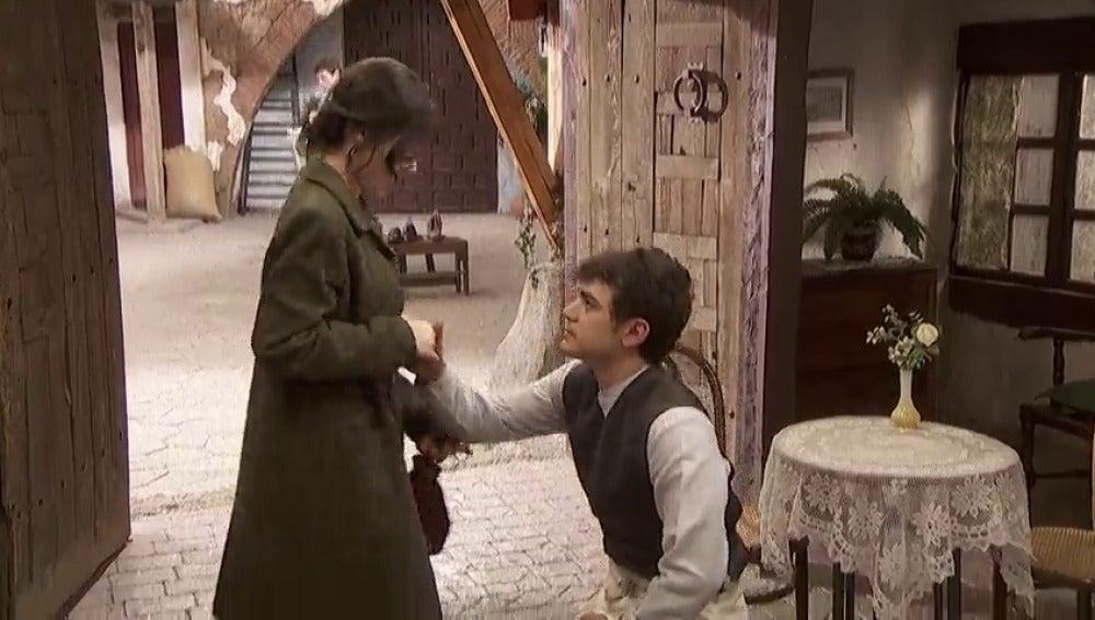 Frame 54.462857 de: Matías le pide matrimonio a Marcela