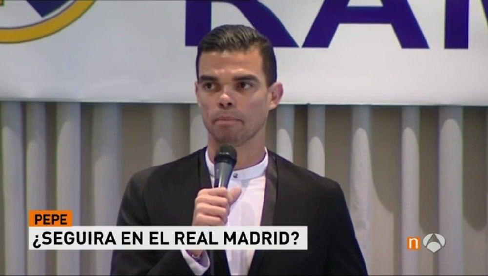 """Frame 42.466666 de: Pepe: """"¿Mi futuro? Voy a esperar al Real Madrid hasta el último segundo, esta es mi casa"""""""