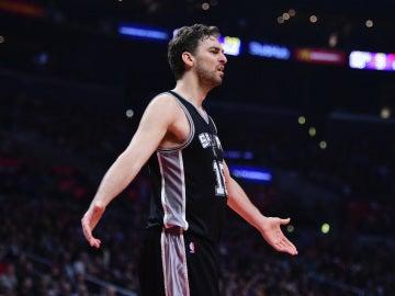 Gasol, con los Spurs