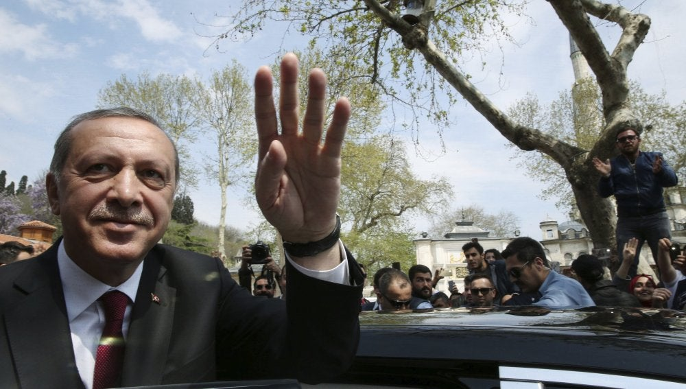 El presidente de Turquía, Recep Tayip Erdogan