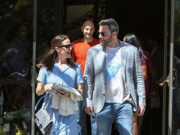 Jennifer Garner y Ben Affleck, juntos tras anunciar su divorcio