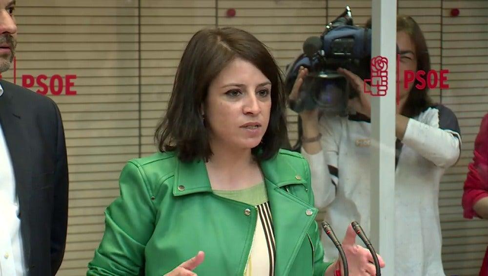 Frame 1.955561 de: Pedro Sánchez presenta formalmente en Ferraz su candidatura para aspirar a las primarias socialistas