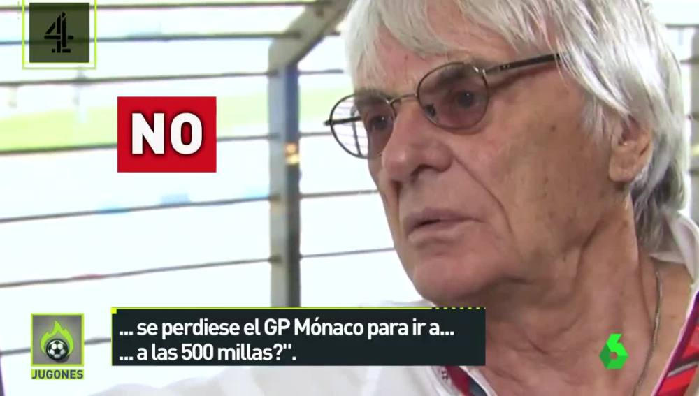 Bernie Ecclestone, exjefe de la F1