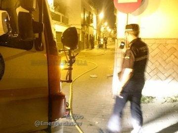 Explosión en una vivienda de Sevilla
