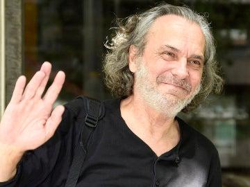 José Coronado a su salida del hospital