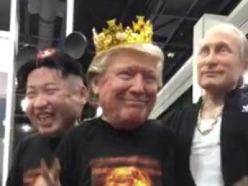 Baile de Trump, Putin y Kim Jong-Un