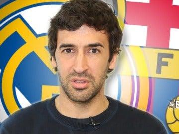 Raúl González, hablando sobre el Clásico