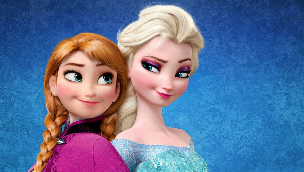 Elsa y Anna de 'Frozen: El reino del hielo'