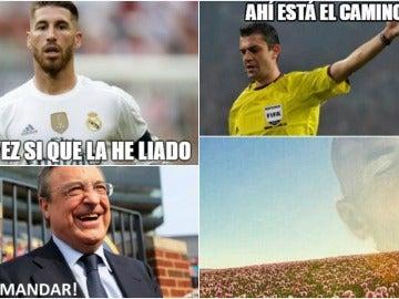 Los 'memes' del Madrid-Bayern